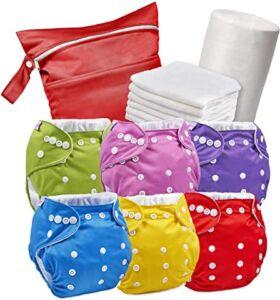 meilleures couches bébés réutilisables lavables