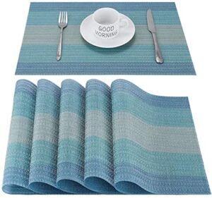 Meilleur set de table lavable et réutilisable
