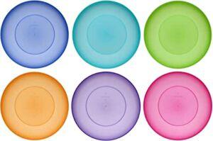 meilleures assiettes réutilisables lavables