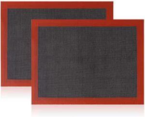 meilleur tapis cuisson réutilisable silicone anti adhésif